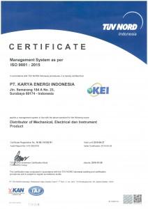 ISO 9001-2015 PT. KEI (rev)